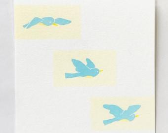 Birdie // postcard