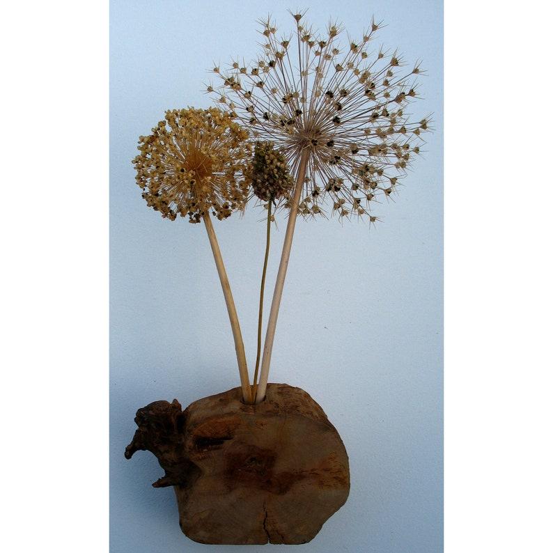Vase 22cm Birnbaumholz image 0