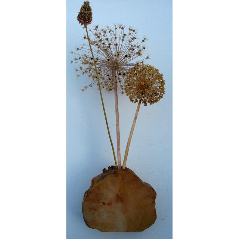 Vase 19 cm Birnbaumholz image 0