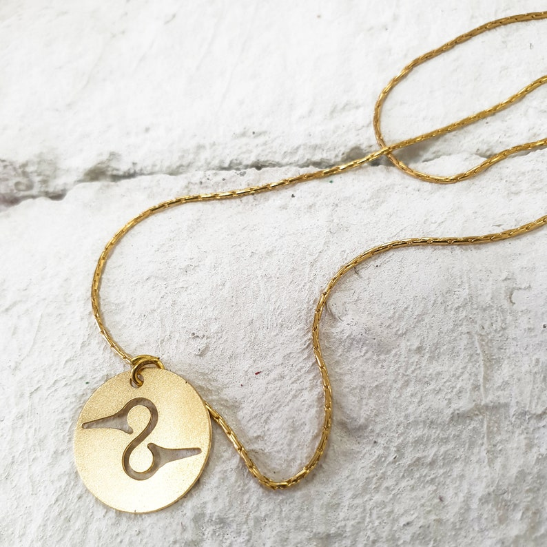 Double chain Necklace, plated gold chain, Dainty Necklace, Hummingbird  Pendant, statement necklace, Power Pendant,