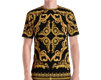 5c005ba5 Gold Baroque Men's T-shirt