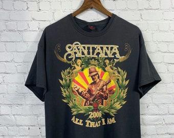 b8157870b Carlos Santana Original All That I Am 2006 Concert Tour large T-shirt