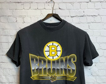 Vintage 90 s NHL RARE Boston Bruins Large Shirt 718483067