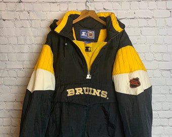 0dd32c4fc Vintage 1990 s NHL Starter Jacket Boston Bruins Size XL