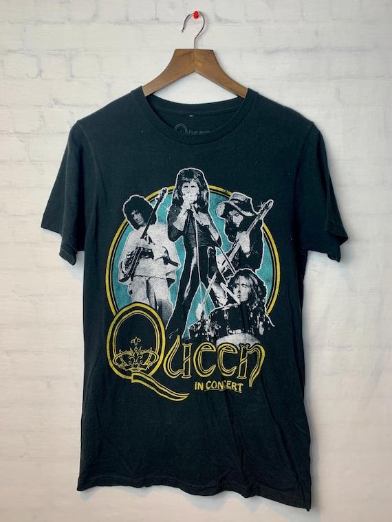 Queen Vintage 80's  Rock Concert T-shirt  Medium S