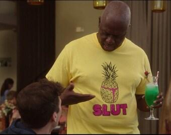 Pineapple Slut Parody Sweatshirt Brooklyn 99 Holt Holiday Party Nine Nine Gift