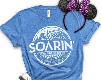 Soarin, Soarin Around the World, WDW, Disney, Ecpot, Epcot Food and Wine, Soarin Women's Shirt, Disney Family Vacation, Soarin Men's Shirt