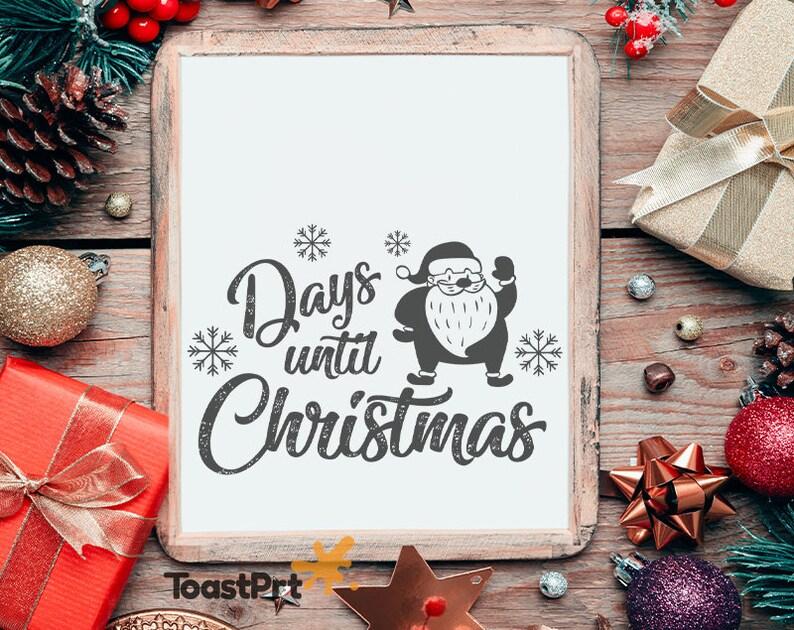 Days Until Christmas Printable.Days Until Christmas Printable Poster 18x24 A3 Christmas Wall Decor Christmas Wall Art 11x14 8x10 24x36 Winter Holiday Christmas Countdown