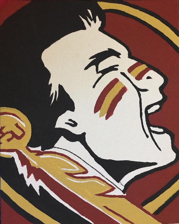 Florida State Seminoles Canvas Art Print for Wall Decor Painting