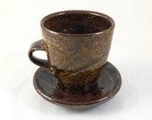 Ceramic Mug With Saucer...