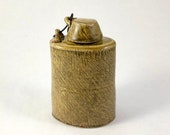 Ceramic Flask with Lid Go...