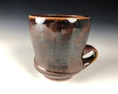 Soda Fired Mug, Handmade Ceramic Mug, Clay Coffee Mug, Coffee Cup, Tea Cup