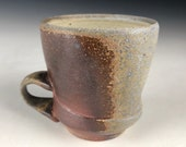 Wood Fire Mug, Ash Glaze Mug, Coffee Mug