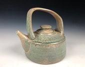 Soda Fired Teapot, Handmade Ceramic Teapot