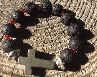 Orthodox 10-Bead Rosary Prayer Ring