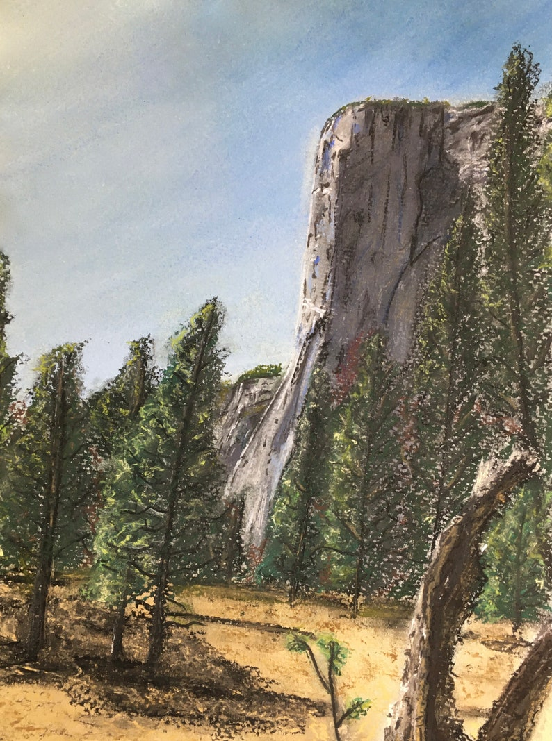 El Capitan  8x10 Matted Print Signed by Artist image 0
