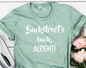 9d7a6721 Backstreet Boys T-Shirt,Backstreet Boys Shirt,Backstreet Boys  Clothing,Retro 90's Backstreet Boys Concert Unisex Adult Clothing Tee