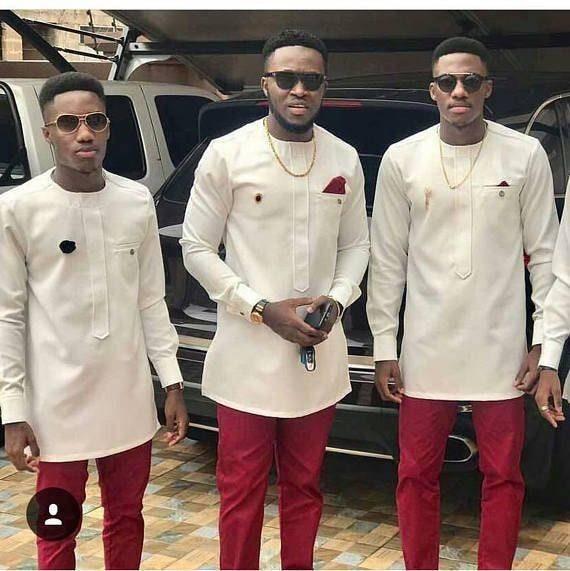 African men/'s clothing  wedding suitdashiki  African men/'s shirt v\u00eatement africain chemise et pantalonAfrican attireprom dress