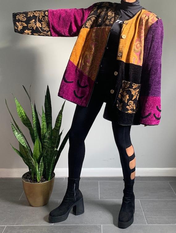Vintage Patchwork Embroidered Jacket