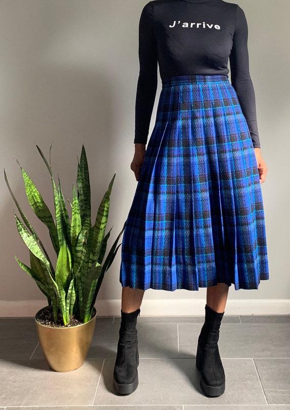 Vintage Pendleton Plaid Skirt