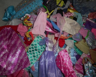 doll dress for 18 inch american girl lot of 5 assorted handmade lace ribbon 33
