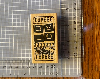 16mm 20mm  Mini Stamps Chinese characters Yun Stamp S1339 luck Rubber Stamp Cute fortune Stamp Planner Stamp