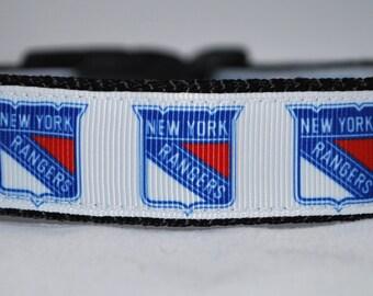 Rangers dog collar  01cd5f8da