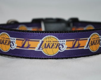 e8f9f74581c LA Lakers dog collar