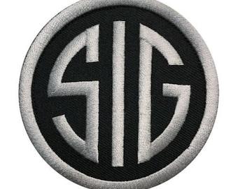 SIG Sauer Gun HOOK Tactical Morale Patch (3.0 Inch) 9046b12b0a4e