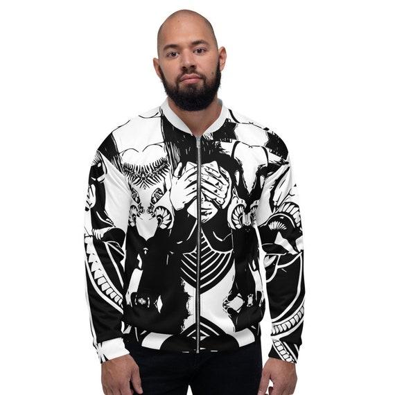 Unisex Bomber Jacket -(jersey sweater coat hoodies bomber jacket trench sweatpants pants jeans shirt yoga leggings sports sneakers  shoes)