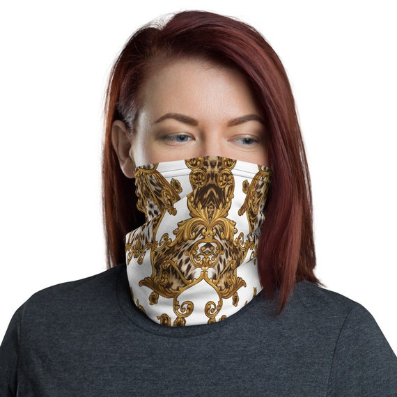 Face Mask Neck & head Gaiter -(gear scarf headband hats caps gloves sweatshirt shirt leggings yoga dress pants shoes jersey jewelry glasses