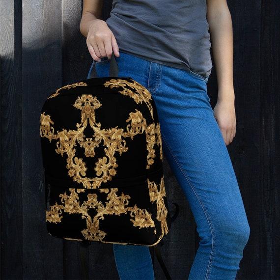 Backpack -(bags handbags clutch backpack crossbody duffle sweatshirt jacket shirt sweatpants pants jeans hoodies luggage purse messenger)
