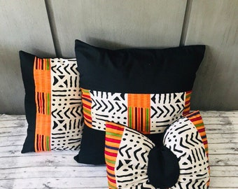 African Print Pillow Etsy