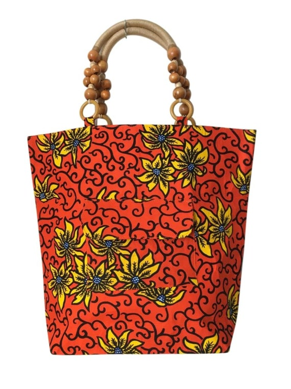 tote bag in African style wax. SHIPPING overnight Tote bag bag just bag