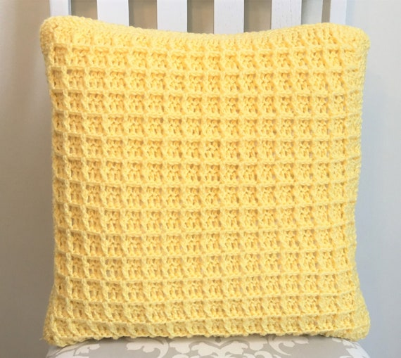 Waffle pillow covers | Etsy