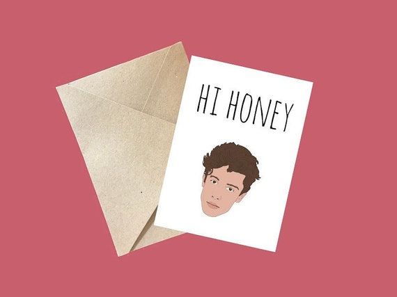 Shawn Mendes Christmas Xmas Card A5 Personalised with own words