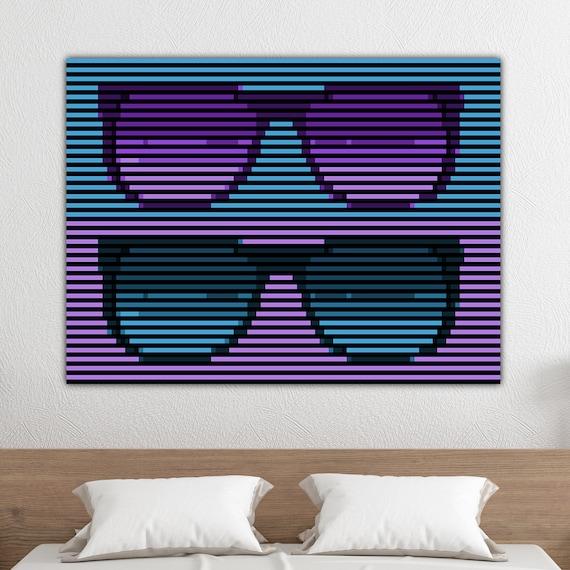 Miraculous Sunglasses Art Printable Download 80S Wall Art 80S Art Miami Art Miami Wall Art Retrowave Pop Wall Art Minimalist Summer Creativecarmelina Interior Chair Design Creativecarmelinacom