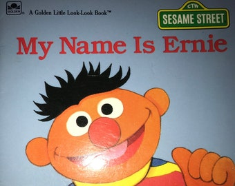 a0328d32c25 My Name Is Ernie a Golden Look Look Book