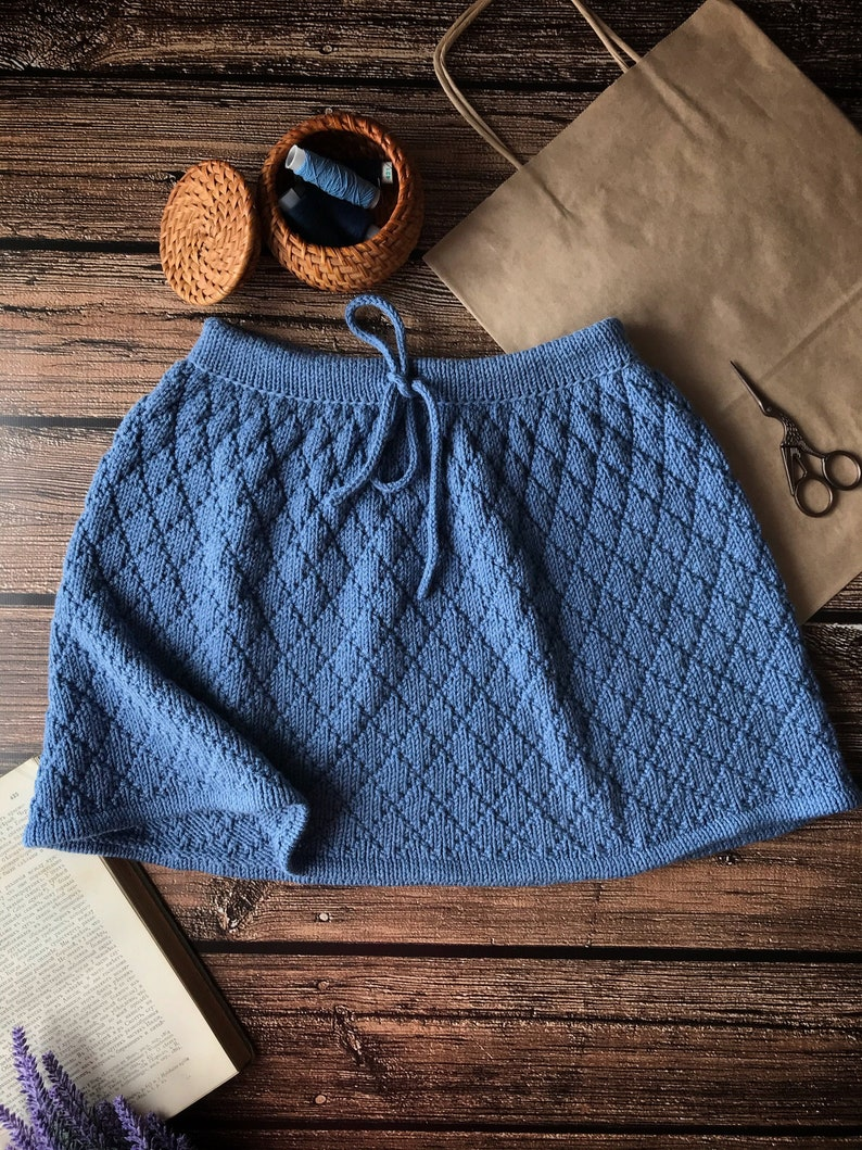 Wool knitted skirt for girl 6-8 years  Baby skirt knitted  Different colors available Photo Outfit  Knitted Skirt  MADE TO ORDER
