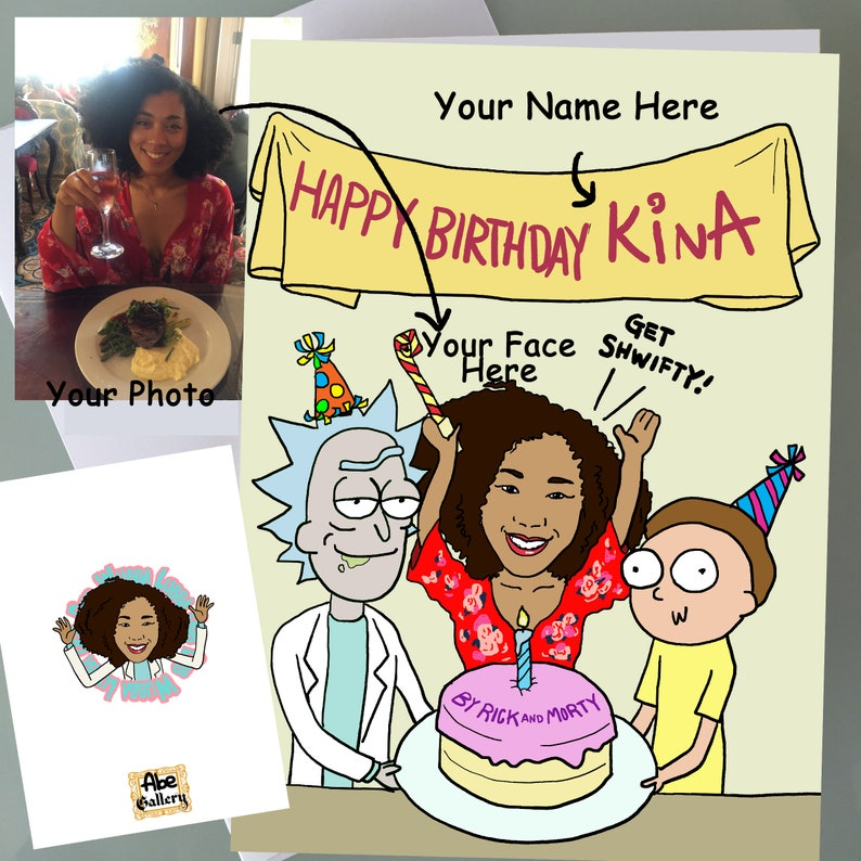 Custom Personalized Birthday Cards Funny Gifts Hip