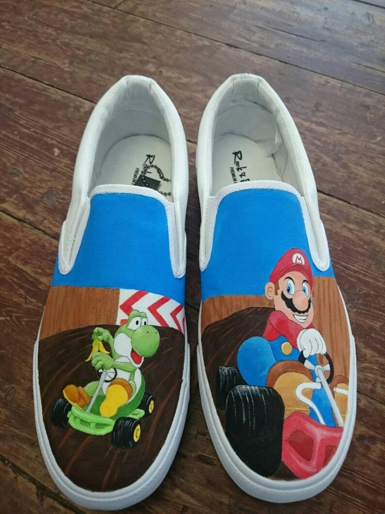 41fe994059554 Size 7(UK). Mario Kart Shoes