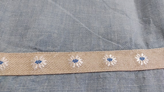 Flax Linen Midi Cottagecore Button Up Dress - image 6