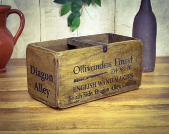 Antique Furniture Mr Paddington Bear Vintage Style Handmade Wooden Storage Box With Ornate Handle Antiques
