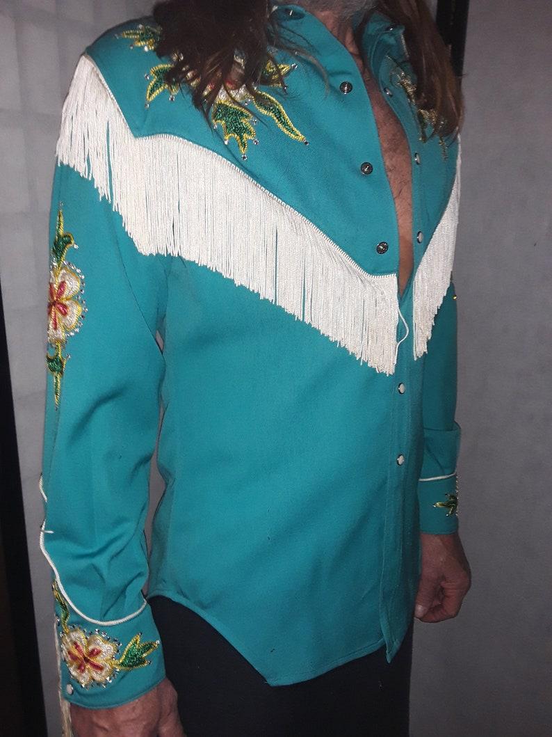 Vintage Western Stage Shirt