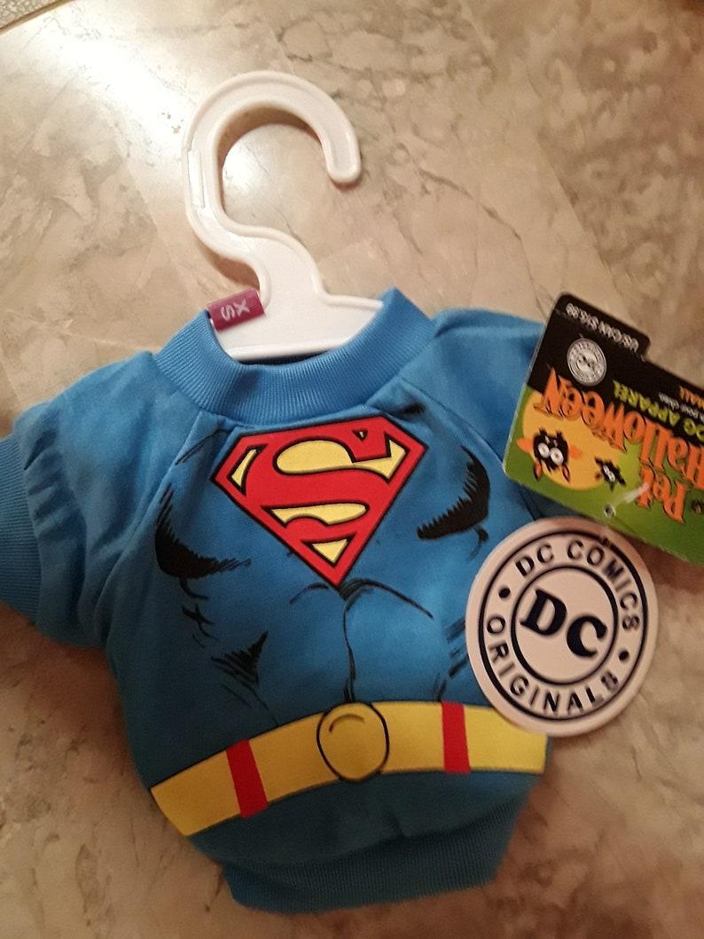Halloween Superman Dog Costume
