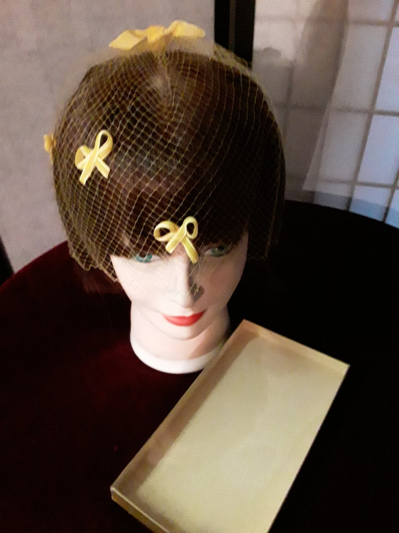 Eliza Crane/'s Vintage hair lace in yellow