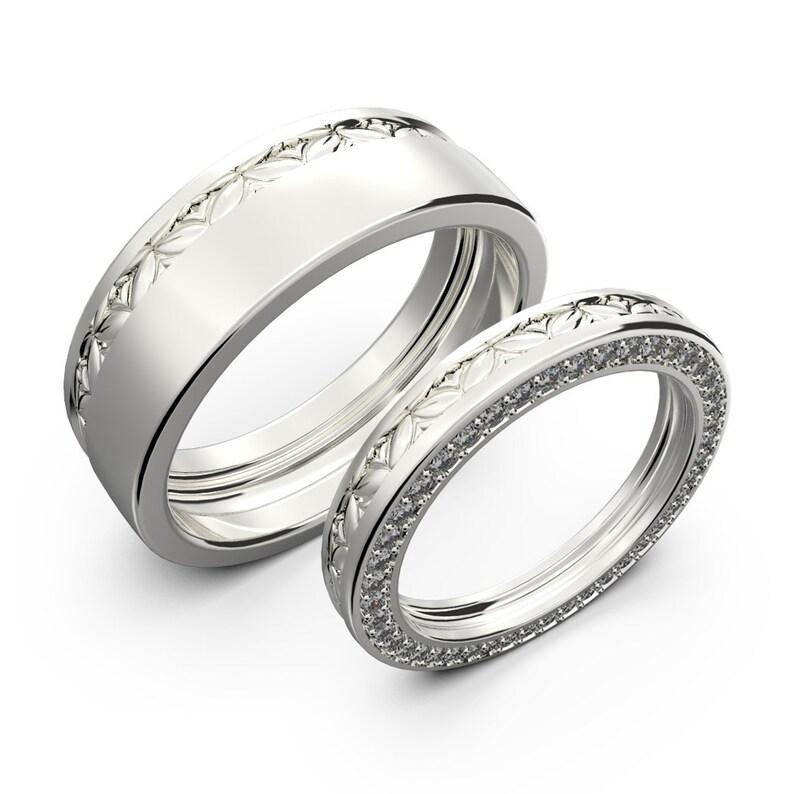 Wedding Band Sets.White Gold Wedding Rings Sets Gold Wedding Bands Diamond Ring Set His And Her Wedding Band Set Diamond Wedding Ring Set Promise Rings