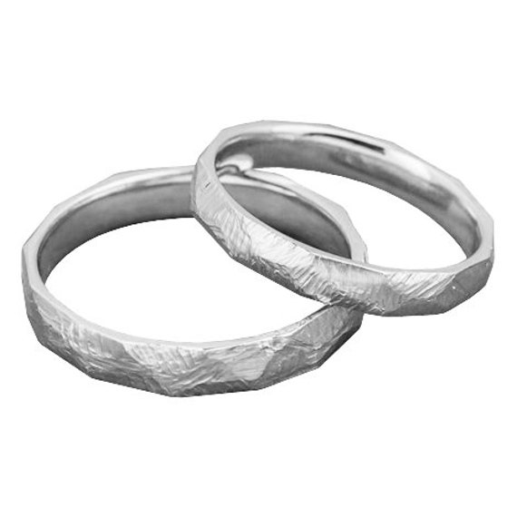 His And Hers Wedding Ring Sets Couple Rings Engagement Ring Etsy