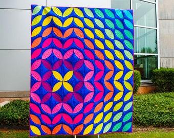 Sonic Bloom - PDF Quilt Pattern