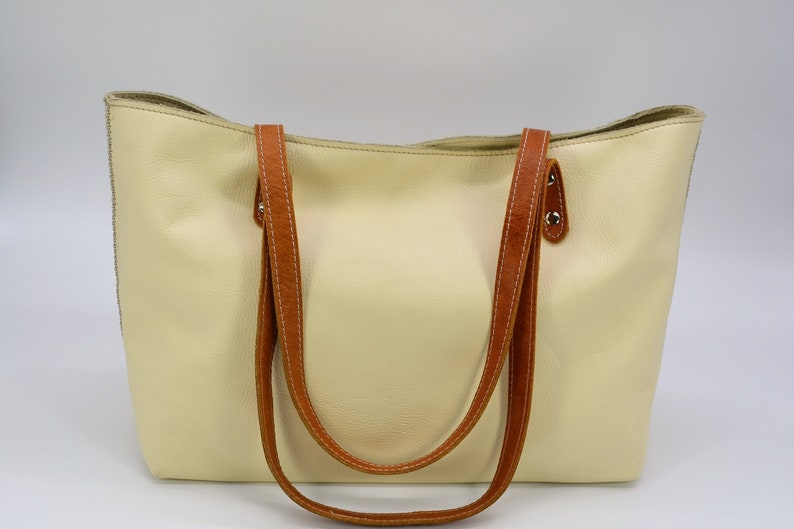 100/% genuine Leather. Leather Bag all Handmade Leather Tote Bag Tote Bag